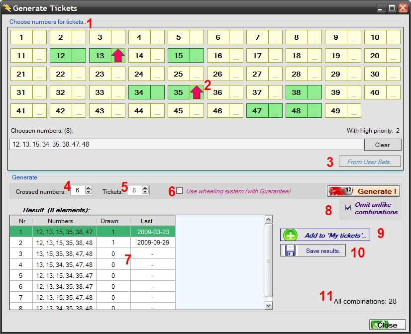 Lotto Generator System